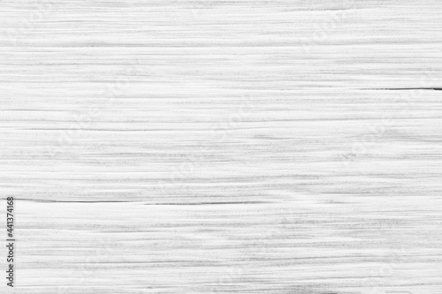 White wood texture background blank for designer wallpaper, wall, floor, print and many more Fotobehang