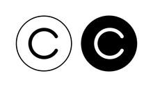Copyright Icon Set. Copyright Symbols