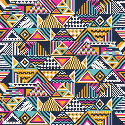 Tapety Etniczne  etniczny-abstrakcyjny-wzor-bez-szwu