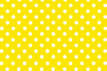 Background With Dots, Pattern, Seamless Polka Pattern, Yellow Polka Dots Background, Dotted Background
