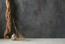Still Life With Decor In Minimal Style