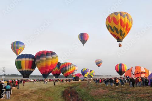 Obraz na plátně hot air balloons
