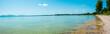 Chiemsee an einem sonnigen Sommertag