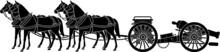Horse Artillery Cannon Carriage