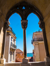 The Patriarchal Cathedral Of St. Mary Major Or Lisbon Cathedral Known As The Se In Portugal