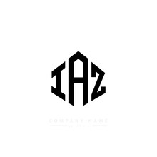 IAZ Letter Logo Design With Polygon Shape. IAZ Polygon Logo Monogram. IAZ Cube Logo Design. IAZ Hexagon Vector Logo Template White And Black Colors. IAZ Monogram. IAZ Business And Real Estate Logo.