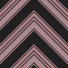 Red Chevron Diagonal Stripes Seamless Pattern Background