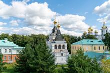 Dmitrov, Russia. Church Of Elizabeth The Righteous In Dmitrov. Dmitrievsky Kremlin