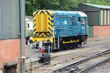 BR Horwich / English Electric Diesel Shunter, Class 08 Pickering Railway Station