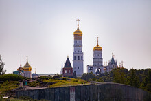 The Archangel And Annunciation Cathedrals Of The Moscow Kremlin In Russia