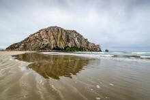 Morro Rock Beach, Morro Bay, California