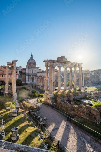 Obraz na płótnie Roman Forum at sunrise, Rome, Italy