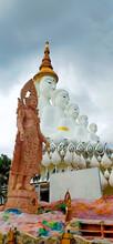 Buddhist Temple Phra That Pha Son Kaew, Khao Khoi, Thailand