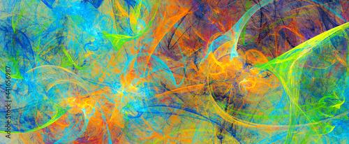 Cuadros en Lienzo Abstract bright color background