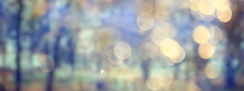 Multicolored Leaves Branches Background, Abstract Blurred Wallpaper View
