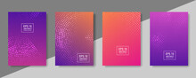 Geometric Pattern Vector Background. Minimal Covers Design.with Line Texture For Business Brochure Cover Design. Gradient Vector Banner Poster Template.