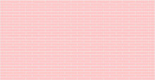 Pastel Pink Brick Wall Texture Background