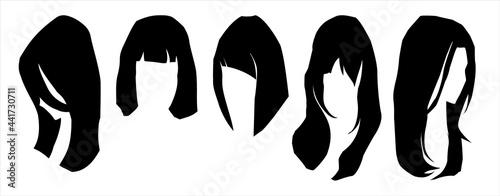 Obraz na plátně hairstyle girl