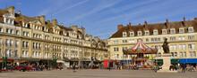 Panoramique Place Jeanne Hachette à Beauvais (60000), Département De L'Oise En Région Hauts-de-France, France