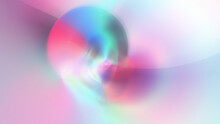 Abstract Blurred Gradient Pastel Colors  Pink Purple Circle Red Sun Simple Design