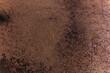 Brązowa rdza, ciekawe metalowe tło, tekstura.