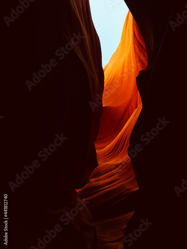 Fotografie, Obraz Lower Antelope Canyon