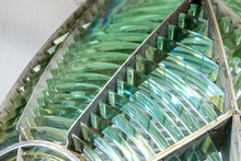 Prism After Prism - The Point Arena Lighthouse Fresnel Lens Is Comprised Of Hundreds Of Prisms That Focused Light From A Central Oil Lamp Toward Mariners On The Pacific Ocean. Point Arena, CA, USA