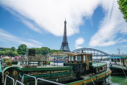 Billede på lærred Paris Eiffel Tower