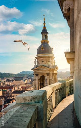 Canvas Istvan basilica in Budapest