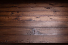Wooden Table Top Background Texture.   Wood Tabletop Front View