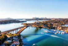 D Sydney Gladesville Bridge 2 CBD