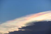 Iridescent Pileus Cloud.