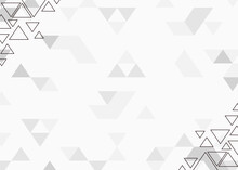 Background Design With Triangle Pattern Abstract Theme