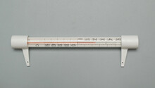 Glass Outdoor Thermometer