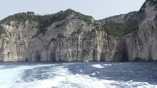 Oceanside Mountain In Greece