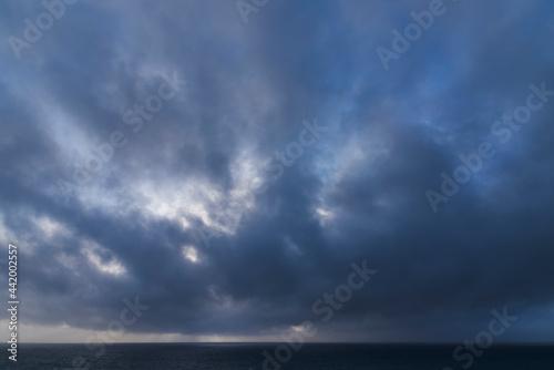 Fotografie, Obraz Stunning fine art landscape image of view from Hartland Quay in Devon England du