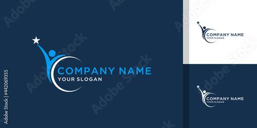 Tela Success logo template for leadership, education, company
