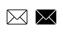 Envelope Icon, Mail Icon Vector For Web, Computer And Mobile App