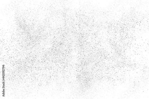 Fotografia, Obraz Distressed black texture