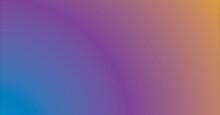 Composition Of Softly Graduated Blue To Orange Background
