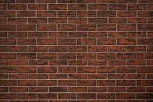 Brown Brick Wall Texture. Background