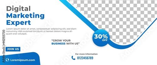 Canvastavla Business marketing banner template design
