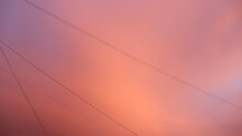 Pink Clouds After Rain