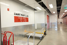 Cart Parking Space In Storage Facility