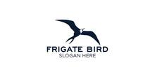 Frigate Bird  Logo Design Template