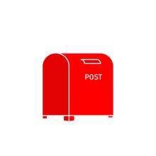 Vintage London Post Box Illustration