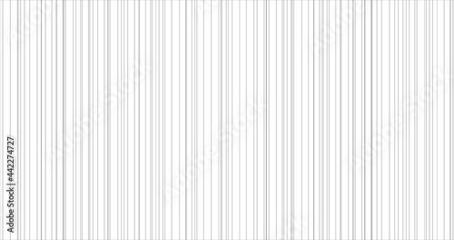 Fototapeta Abstract thin grey vertical striped pattern