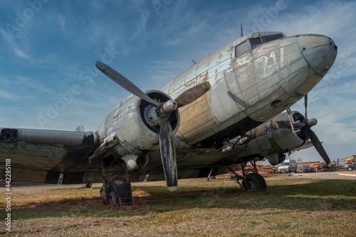 Obraz na płótnie The venerable Douglas C-47B Skytrain (DC-3 Dakota) transport aircraft