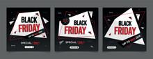 Black Friday Sale Discount Social Media Post Template
