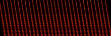 Neon Signs Photo Composite Neon Building Elements Red Diamonds